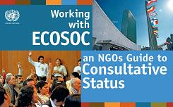Working with ECOSOC