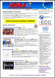 EURAO Newsletter Especial sobre la amenaza a los 2m